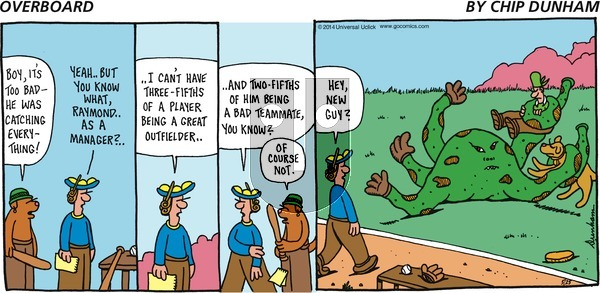 Overboard on Sunday May 25, 2014 Comic Strip