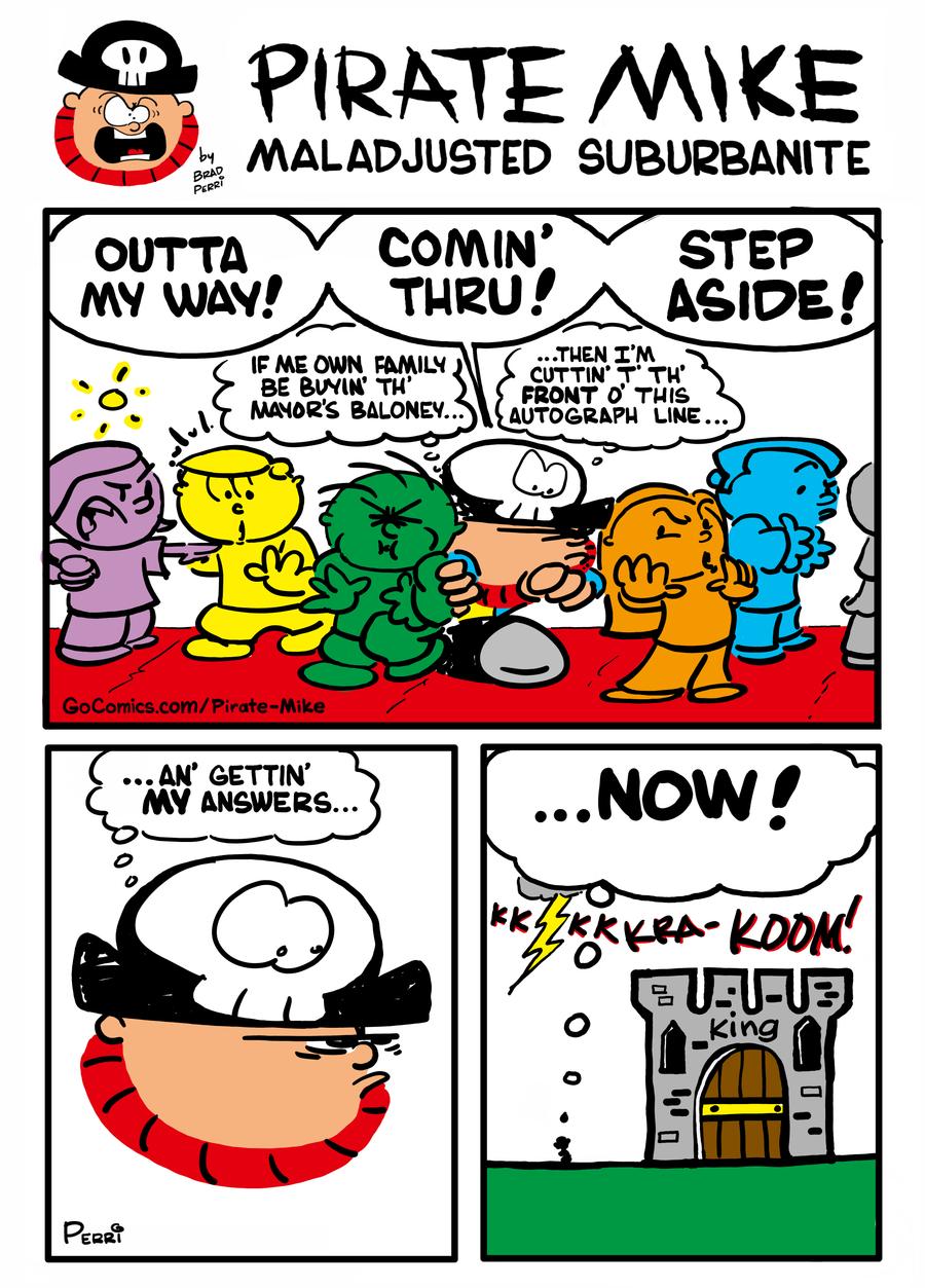 Pirate Mike Comic Strip for November 20, 2020