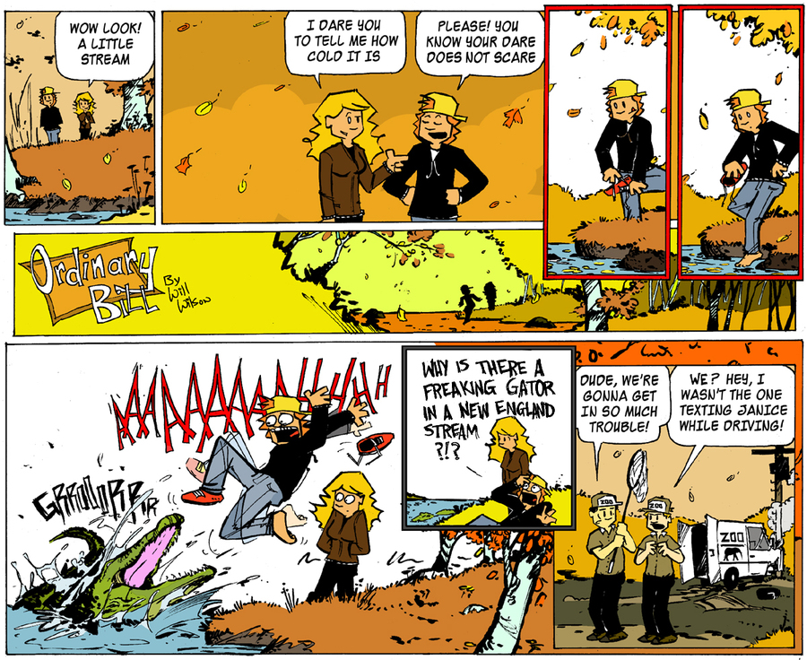 Ordinary Bill Comic Strip for October 27, 2013
