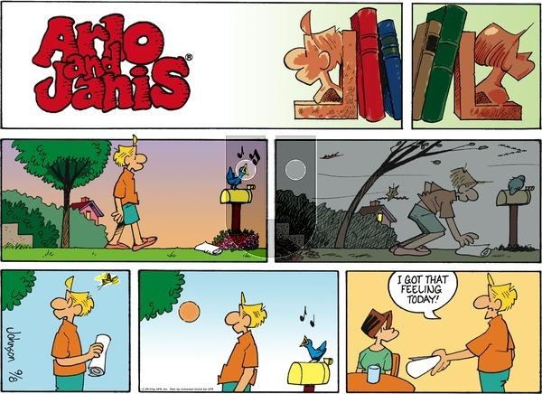 Arlo and Janis - Sunday September 8, 2013 Comic Strip