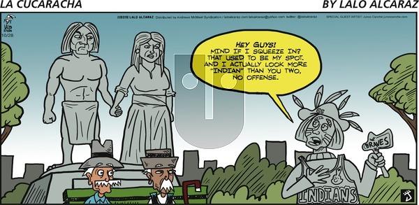 La Cucaracha on October 28, 2018 Comic Strip