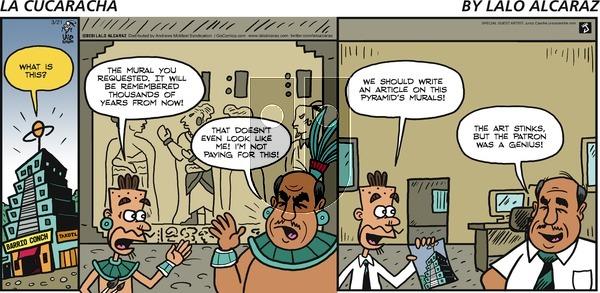 La Cucaracha on Sunday March 21, 2021 Comic Strip