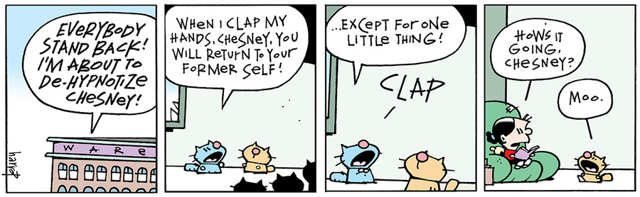 Ten Cats for January 25, 2014 Comic Strip