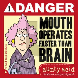 Aunty Acid on Friday May 13, 2016 Comic Strip