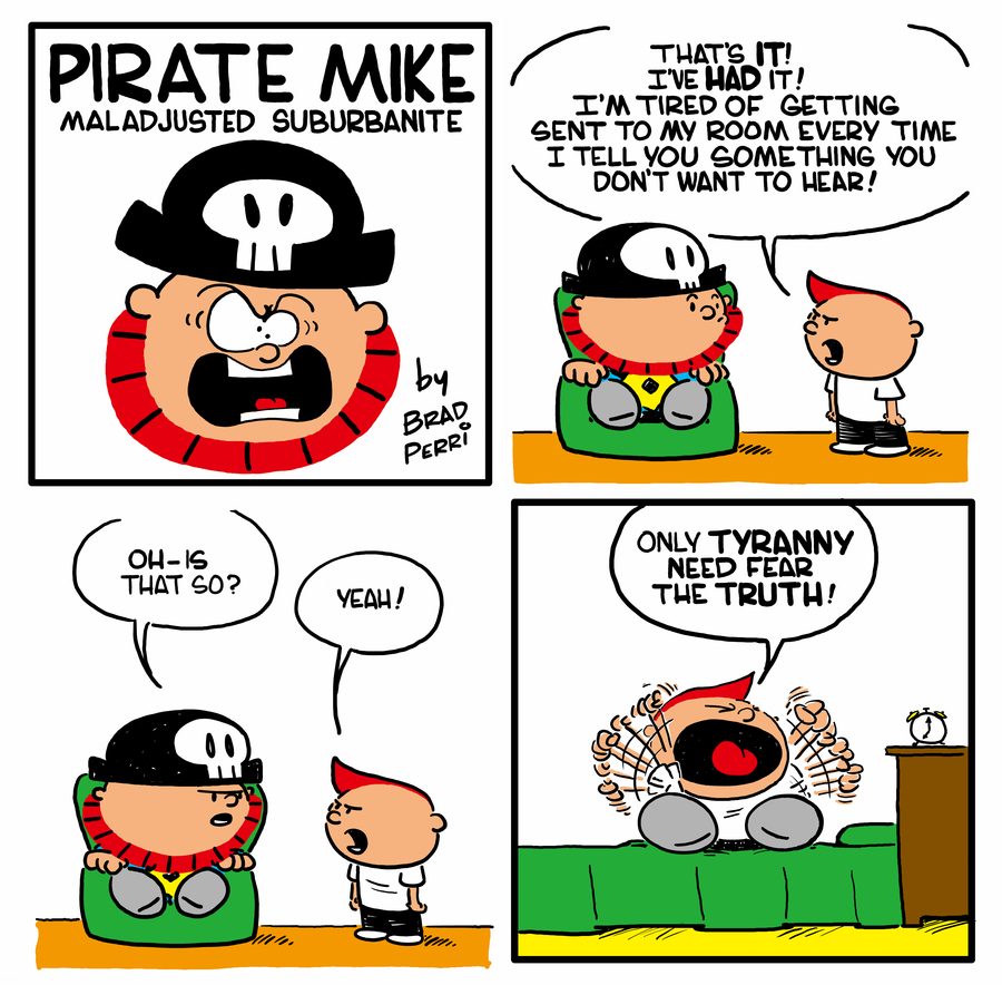Pirate Mike Comic Strip for July 10, 2020