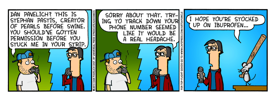 Just Say Uncle Comic Strip for January 21, 2015