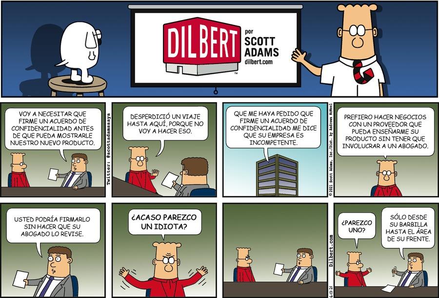 Dilbert en Español by Scott Adams on Sun, 13 Jun 2021