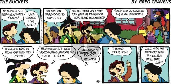 The Buckets on Sunday February 18, 2018 Comic Strip
