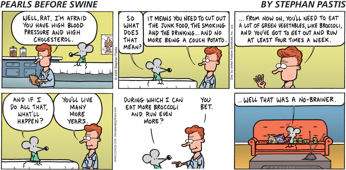 Pearls Before Swine Comic Strip for April 03, 2005