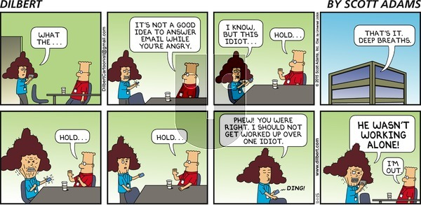 Dilbert - Sunday November 1, 2015 Comic Strip