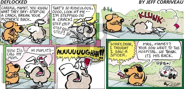 DeFlocked on Sunday October 20, 2019 Comic Strip