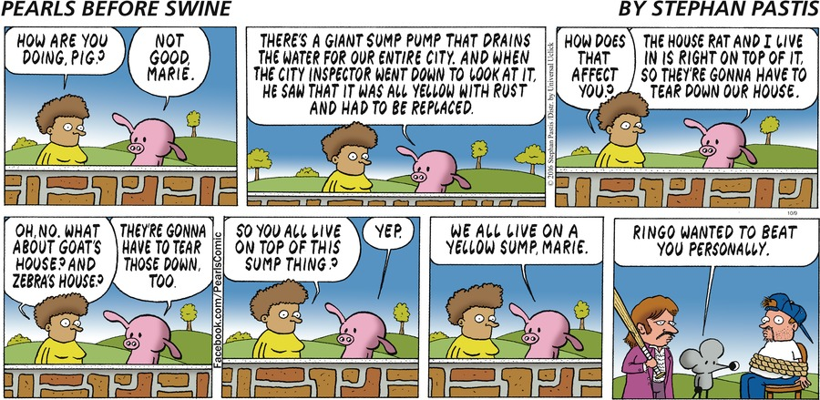 Pearls Before Swine Comic Strip for October 09, 2016
