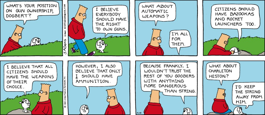 Dilbert Classics Comic Strip for June 04, 2017