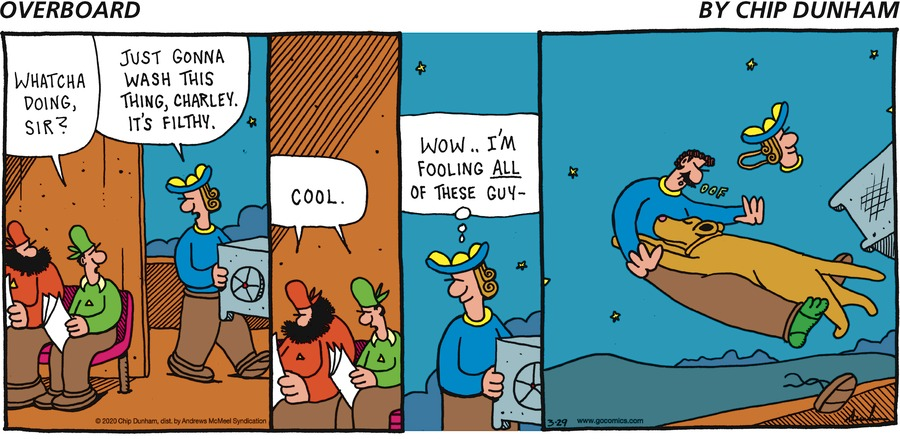 Overboard Comic Strip for March 29, 2020