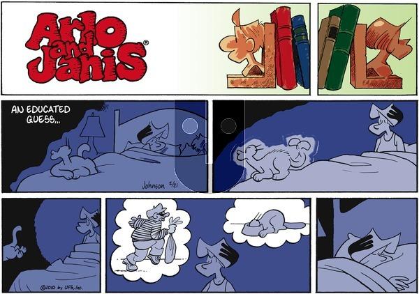 Arlo and Janis on Sunday February 21, 2010 Comic Strip