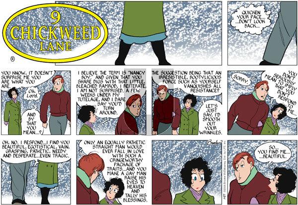 9 Chickweed Lane on Sunday January 27, 2008 Comic Strip