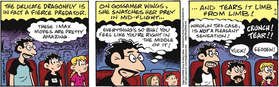 Edge City Comic Strip for June 13, 2021