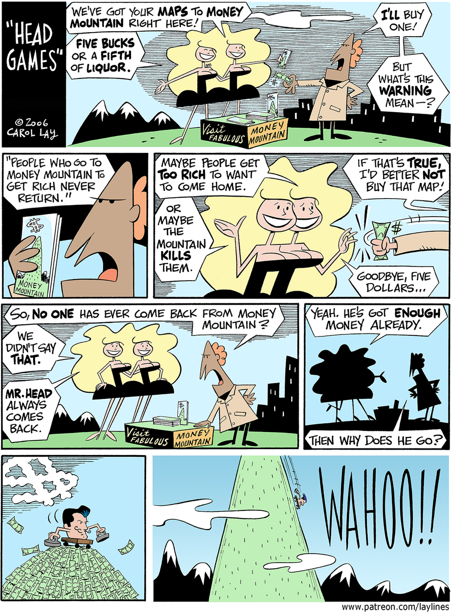 Lay Lines Comic Strip for November 06, 2017