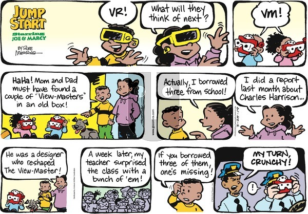 JumpStart on Sunday March 24, 2019 Comic Strip