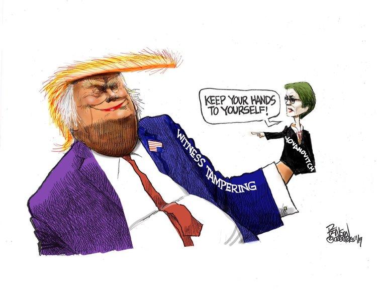 Steve Benson Comic Strip for November 20, 2019