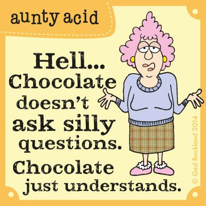 Aunty Acid for Jan 9, 2014 Comic Strip