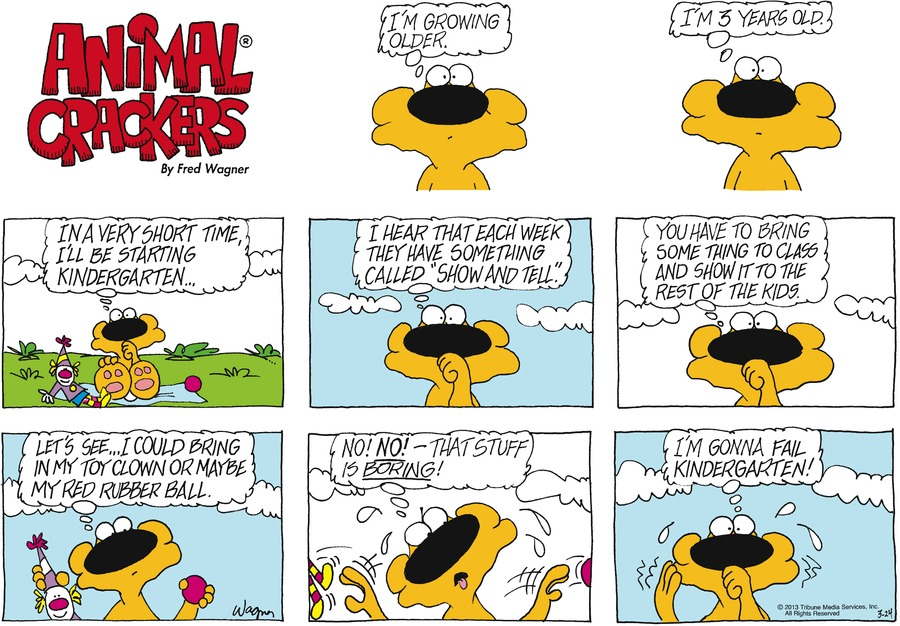 Animal Crackers for Mar 24, 2013 Comic Strip
