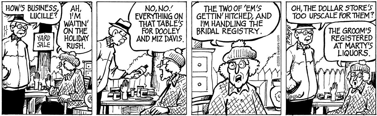 One Big Happy for Nov 16, 2011 Comic Strip