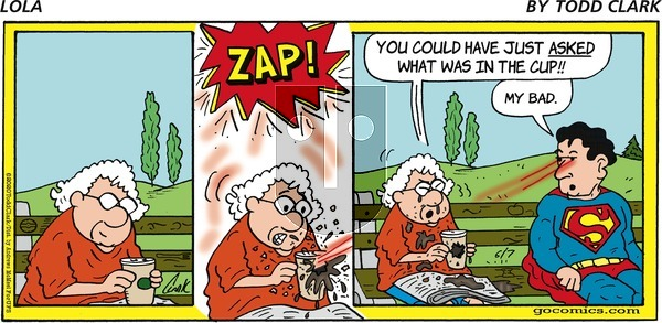 Lola on Sunday June 7, 2020 Comic Strip