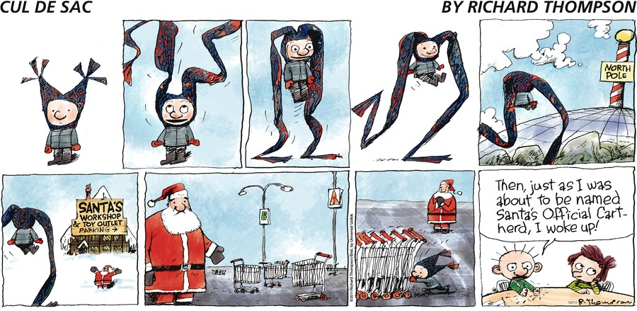 Cul de Sac Comic Strip for December 11, 2016