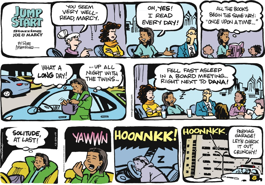 JumpStart Comic Strip for December 29, 2019