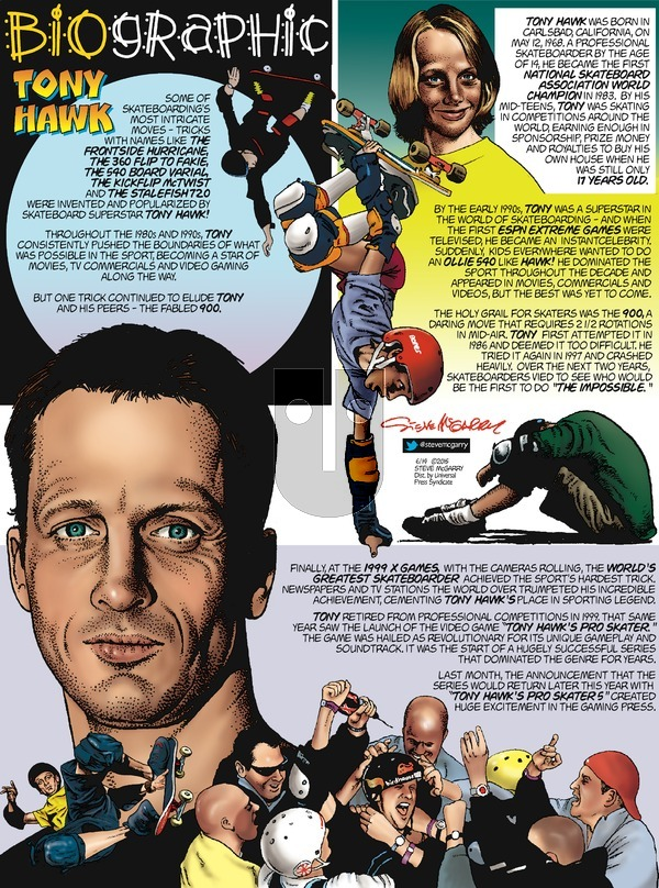 Biographic on Sunday June 14, 2015 Comic Strip