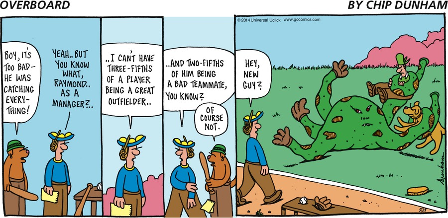 Overboard Comic Strip for May 25, 2014