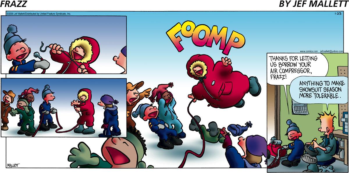 Frazz Comic Strip for January 23, 2005