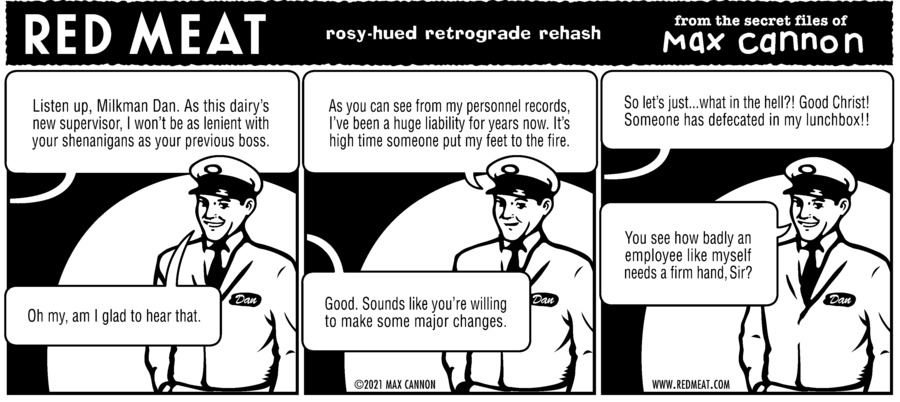 Red Meat Comic Strip for July 25, 2021