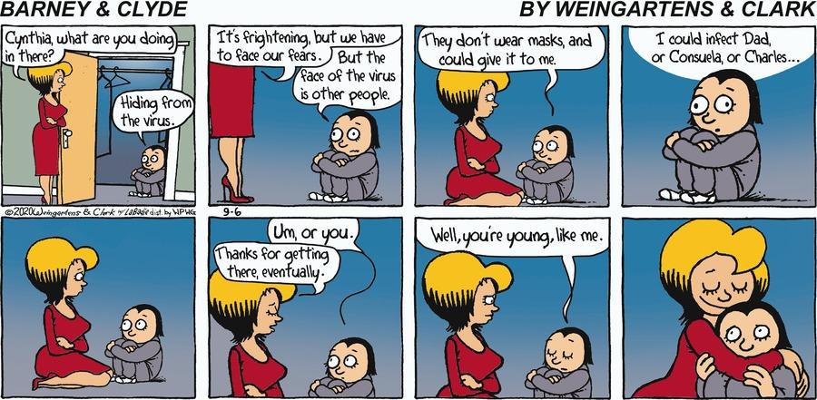 Barney & Clyde Comic Strip for September 06, 2020
