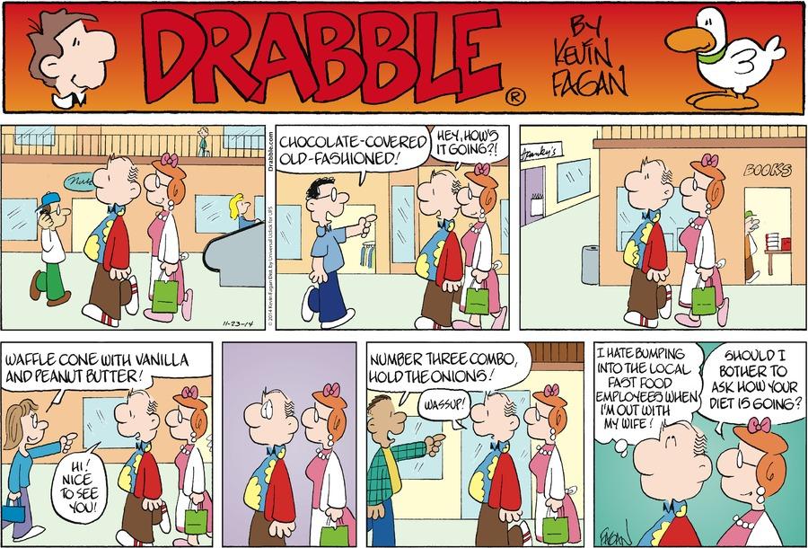 Drabble Comic Strip for November 23, 2014