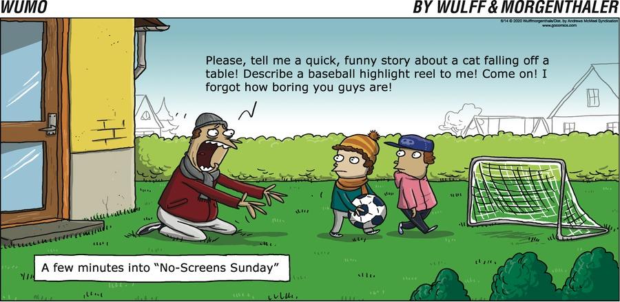 WuMo Comic Strip for June 14, 2020