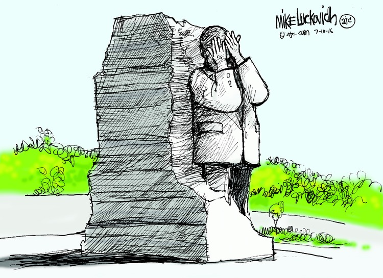 Mike Luckovich Comic Strip for July 10, 2016