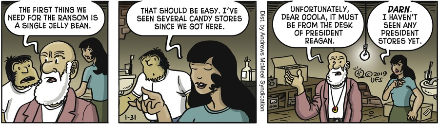 Alley Oop Comic Strip for January 31, 2019