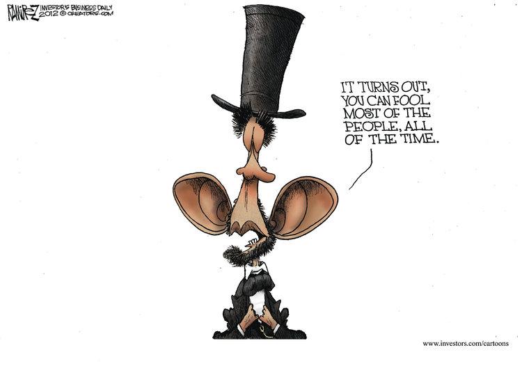 Michael Ramirez Comic Strip for November 29, 2012