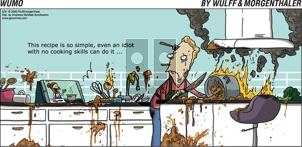 WuMo on Sunday May 31, 2020 Comic Strip
