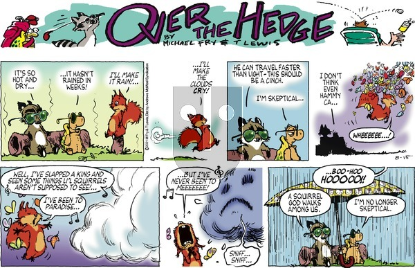 Over the Hedge on Sunday August 15, 2021 Comic Strip