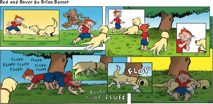 Red and Rover Comic Strip for June 23, 2013
