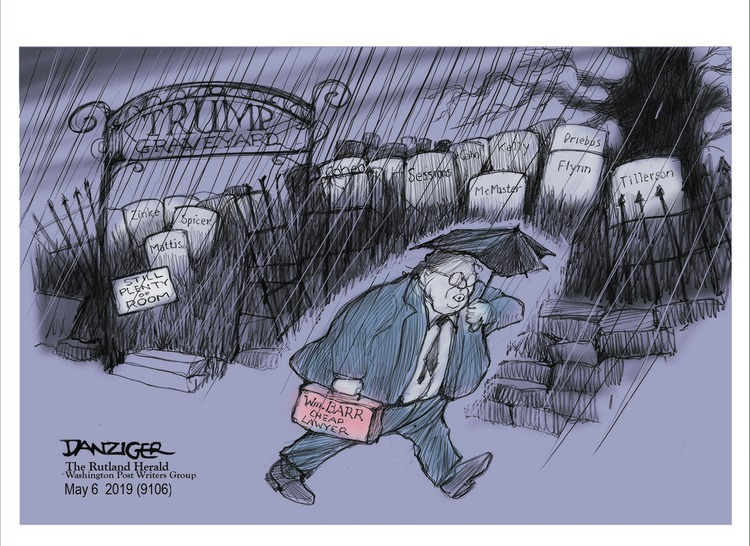 Jeff Danziger by Jeff Danziger for May 05, 2019