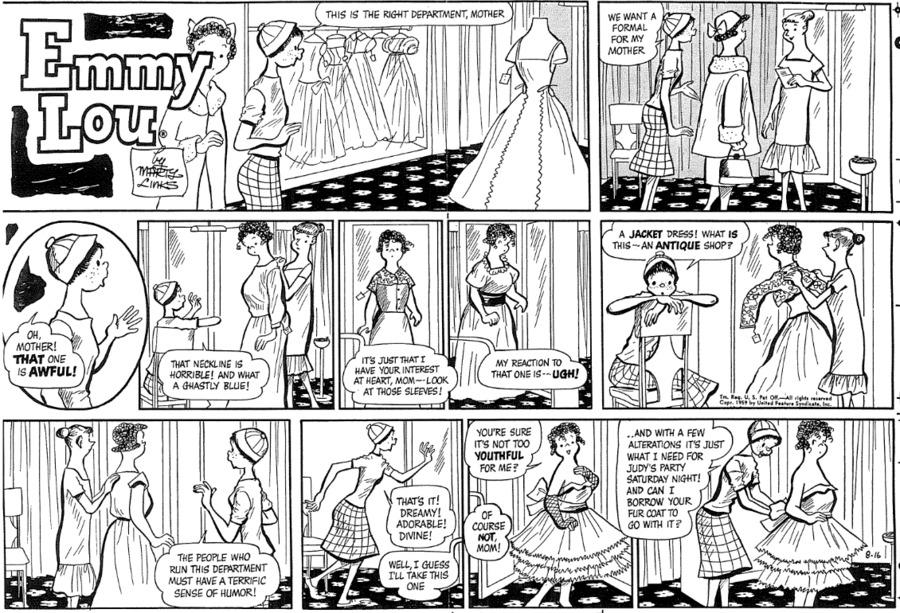 Emmy Lou Comic Strip for February 14, 2021
