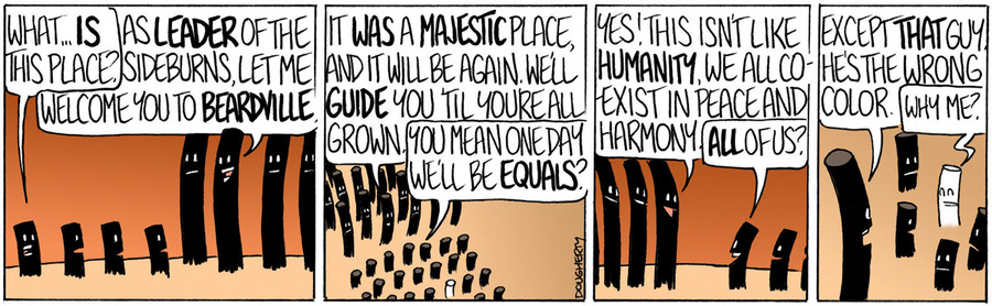 Beardo for Mar 29, 2013 Comic Strip