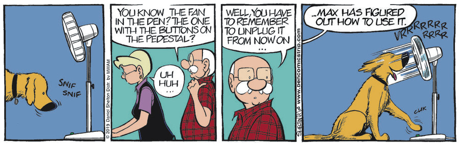 Ben Comic Strip for August 26, 2019
