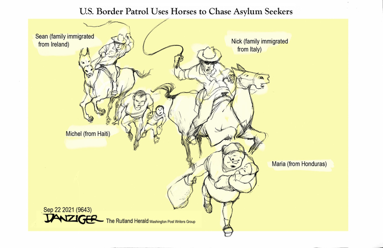 Jeff Danziger by Jeff Danziger on Thu, 23 Sep 2021