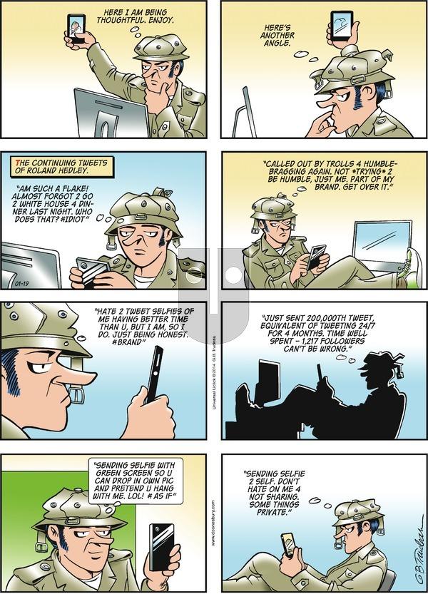 Doonesbury on Sunday January 19, 2014 Comic Strip