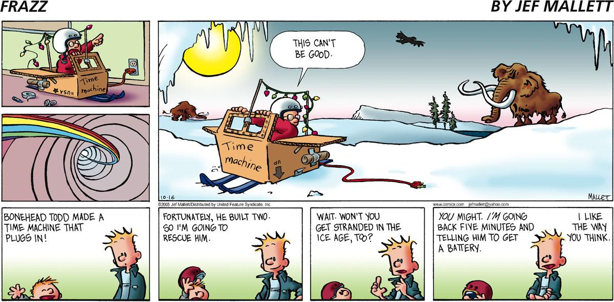 Frazz for Oct 16, 2005 Comic Strip